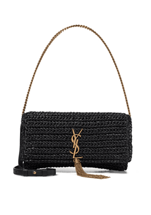Kate 99 raffia shoulder bag