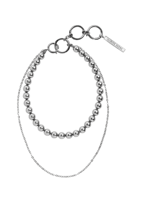 Double-layered necklace