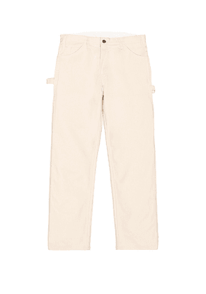 Dickies Standard Utility Painter Pant in Cream. Size 34x32.