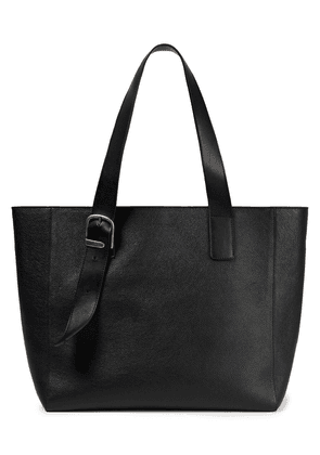 Ann Demeulemeester Textured-leather Tote Woman Black Size --