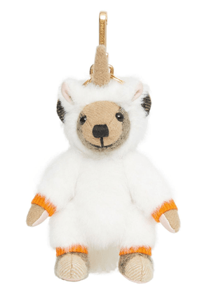 Burberry Thomas Bear unicorn charm - Orange
