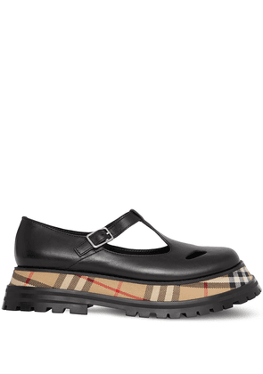 Burberry Vintage Check Mary Jane shoes - Black