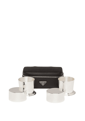 Prada two-cup and case set - Black