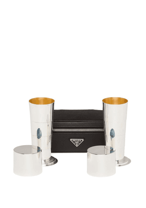 Prada retractable two-cup set - Black