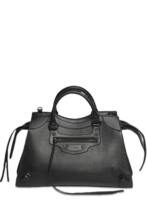 Neo Classic City Leather Top Handle Bag