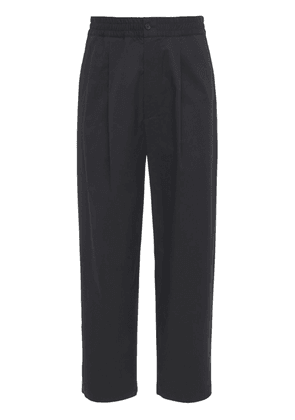 Pleated Loose Cotton Pants