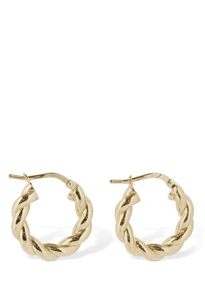 Wrinkled Hoop Earrings