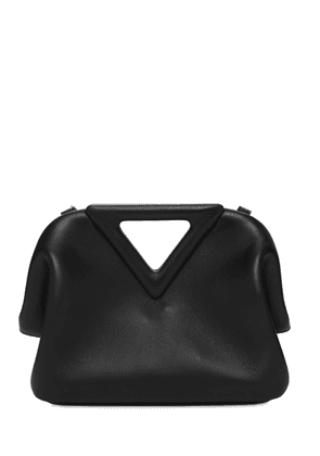 Leather Top Handle Bag