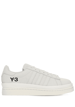 Y-3 Hicho Leather Blend Sneakers