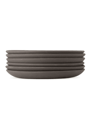 Lily Pearmain SSENSE Exclusive Black and White Dinner Plate Set
