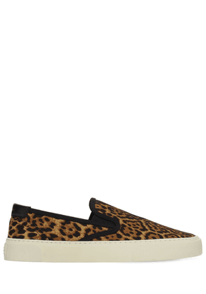 Leopard Print Venice Slip-on Sneakers