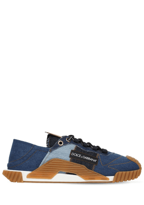 Ns1 Denim Patchwork Sneakers