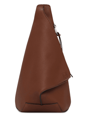 Anton Pebbled Small Leather Backpack