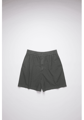 Acne Studios FN-MN-SHOR000067 Anthracite grey  Cotton shorts