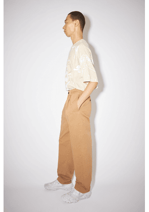 Acne Studios FN-MN-TROU000475 Camel brown Wide leg trousers