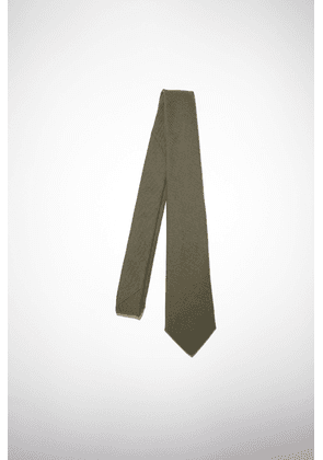 Acne Studios FN-MN-ACCS000030 Hunter green  Classic fit tie