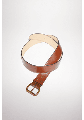 Acne Studios FN-UX-ACCS000013 Brown  Wide leather belt