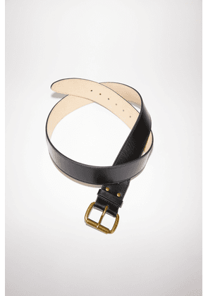 Acne Studios FN-UX-ACCS000013 Black  Wide leather belt