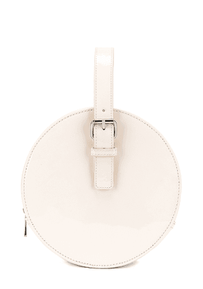 L'Academie Aoife Circle Bag in White.