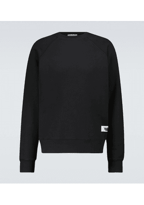 Finick inversed label sweatshirt