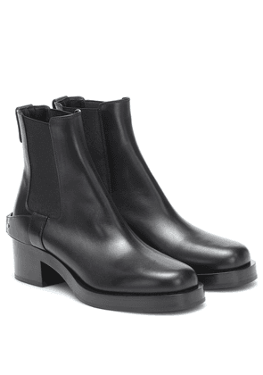 Valentino Garavani TROOPUP leather ankle boots