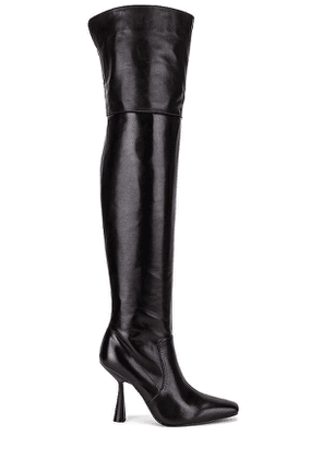 Alias Mae Villa Over The Knee Boot in Black. Size 36.