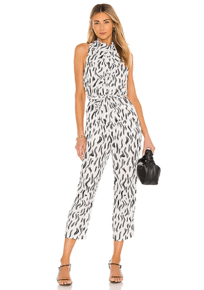 Joie Toulouse Jumpsuit in White. Size 10, 2, 4, 6.