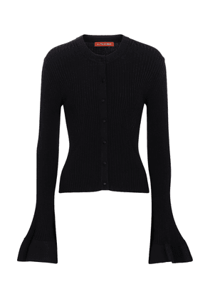 Ayanna ribbed-knit cardigan