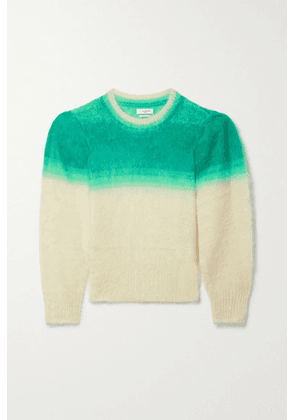Isabel Marant Étoile - Deniz Dégradé Brushed Mohair-blend Sweater - Green