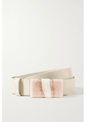 Isabel Marant - Luponi Leather Waist Belt - Ecru