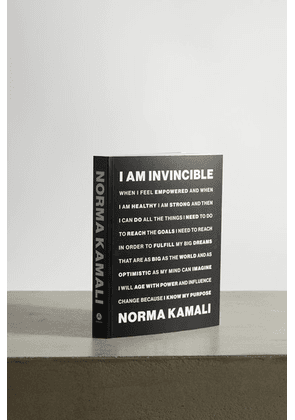 Abrams - I Am Invincible By Norma Kamali Paperback Book - Black