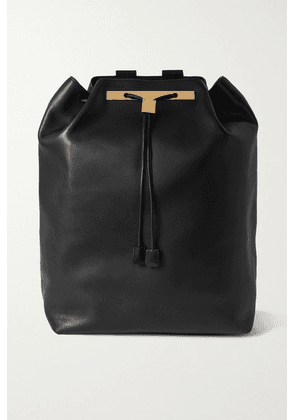 The Row - Leather Backpack - Black