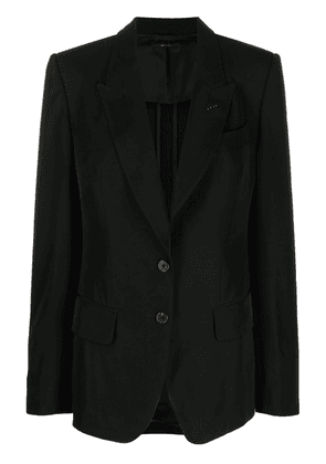 TOM FORD button-front tailored blazer - Black