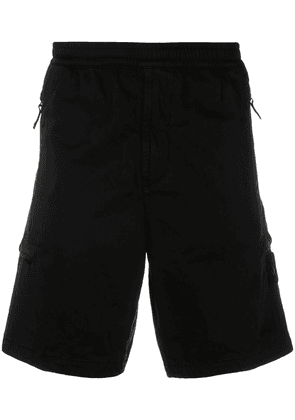 Stone Island elasticated waistband track shorts - Black