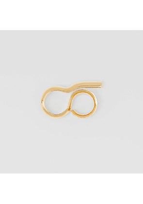 Burberry Gold-plated Keyhole Double Ring