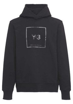Reflective Square Logo Hoodie