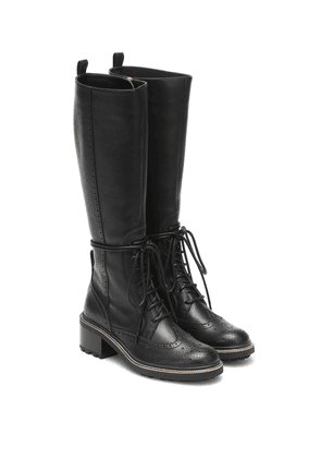 Franne leather knee-high boots