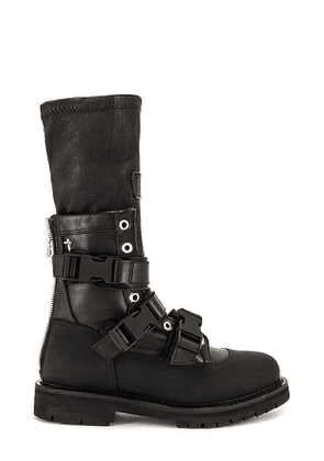 RtA Magnolia Boot in Black. Size 38, 39, 40.