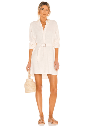 OVERLOVER Sunshine Dress in Ivory. Size M, S, XS.