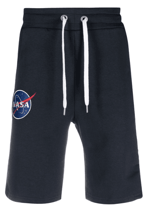 Alpha Industries NASA patch track trousers - Blue