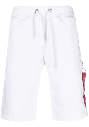 Alpha Industries X-Fit cargo shorts - White