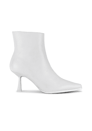 RAYE Battan Bootie in White. Size 5.5, 7, 7.5, 8.5, 9.5.