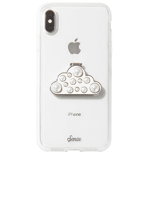 Sonix Cloud Phone Stand in White.