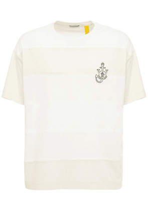 Jw Anderson Color Block Jersey T-shirt