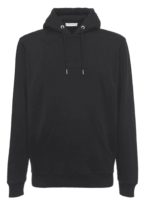 Cotton Hoodie W/embroidered Logo