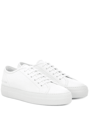 Tournament Low leather sneakers