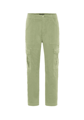 Alana mid-rise cropped cargo pants
