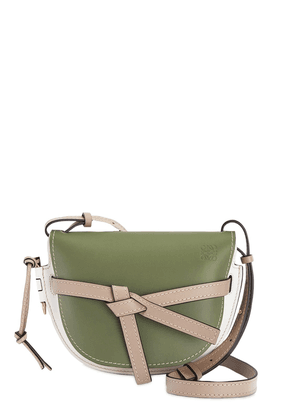 Gate Small Color Block Leather Bag