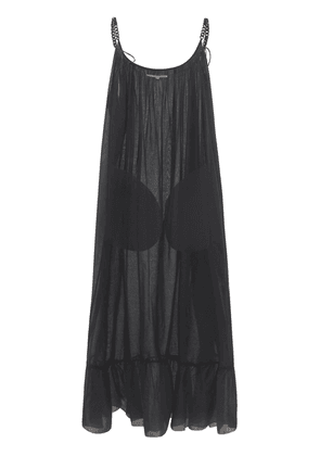 Iconic Cotton Voile Chain Long Dress