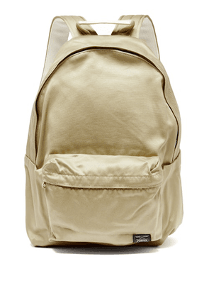 Porter-yoshida & Co. - Weapon Cotton-canvas Backpack - Mens - Beige